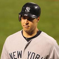 Yankees first baseman Mark Teixeira.