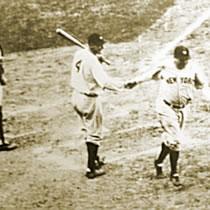 1932 World Series Babe Ruth home run.