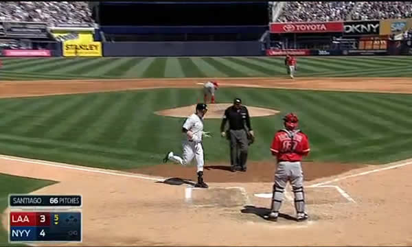 John Ryan Murphy's 1st Career Home Run