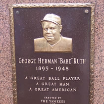 Babe Ruth Monument