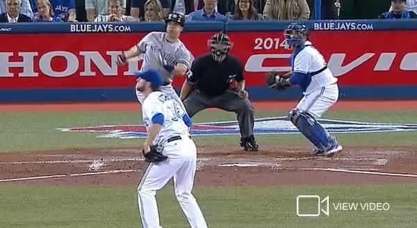 Mark Teixeira blasts 2-run homer in Toronto June 25, 2014