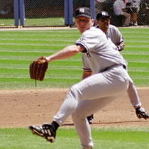 David Cone at New Comiskey Park, 1999