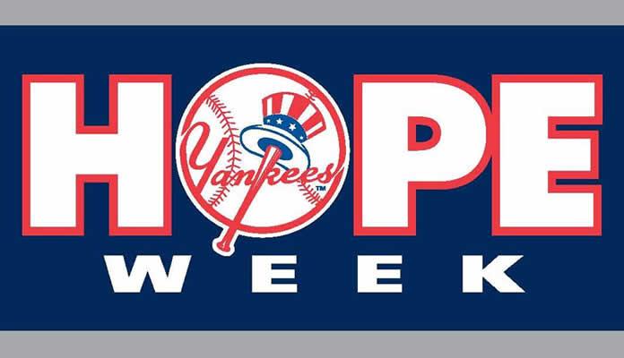 HOPE Week New York Yankees