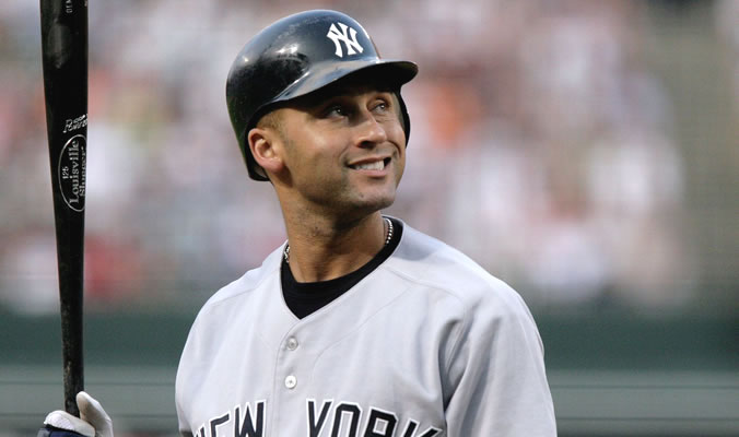 Derek Jeter. Photo by Keith Allison.