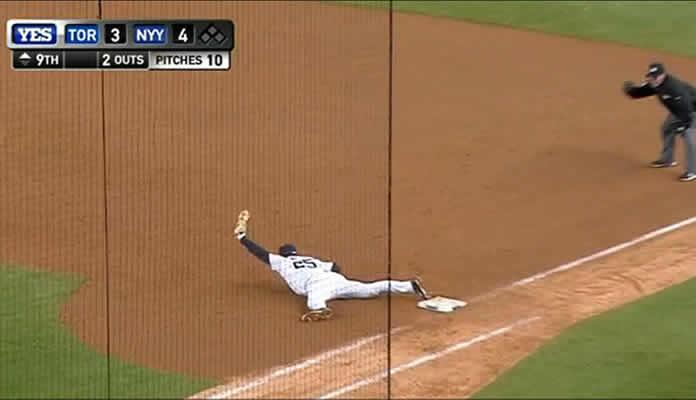 Tex' Stellar Grab Saves the Game