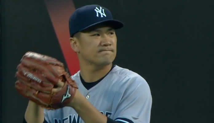 Masahiro Tanaka allows only two solo homers in six strong innings, striking out four and walking none at Citi Field in Queens, NY on September 17. 2015