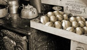 Hot Stove League at Moiderer's Row