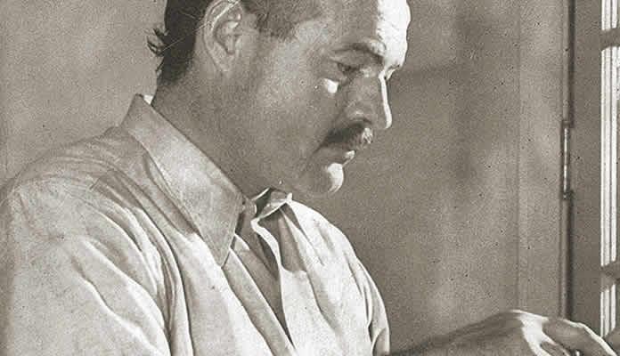 Hemingway - Have faith in the Yankees, my son