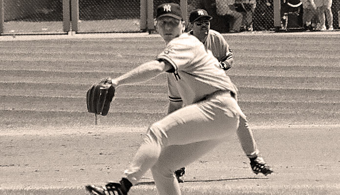 New York Yankees pitcher David Cone in 1999