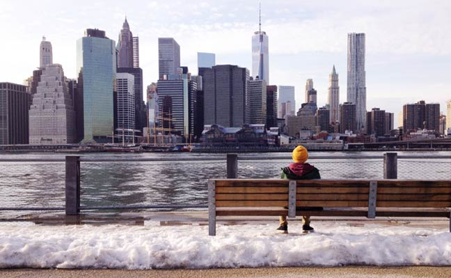 Waiting for Spring Training 2016 in New York City