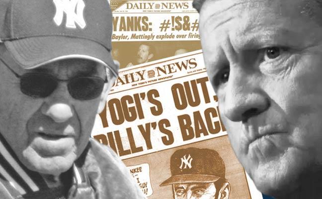 Yogi Berra and George Steinbrenner