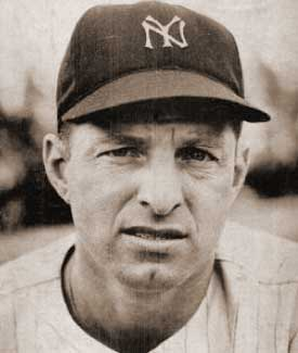 New York Yankees 5-time All-Star outfielder Tommy Henrich