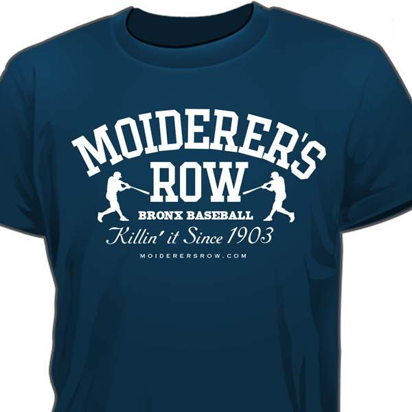 Moiderers Row 2017 Official T-Shirt