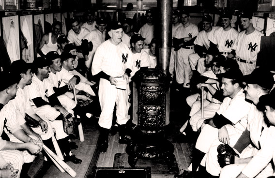 New York Yankees Spring Training 1946 at Huggins Field at Crescent Lake