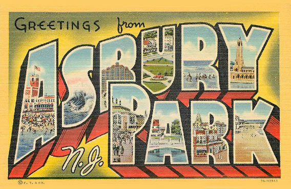 The 1943 New York Yankees held Spring Training in Asbury Park, NJ