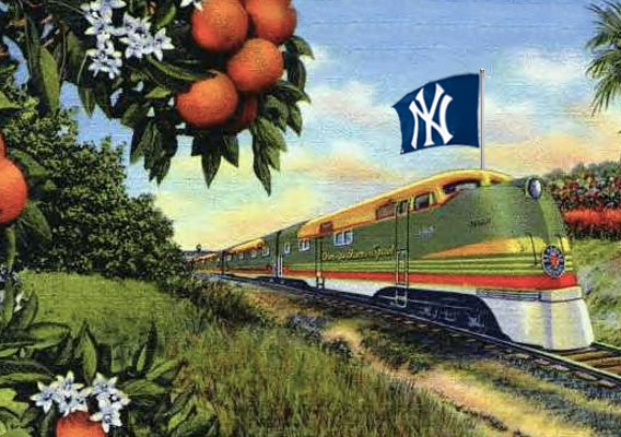 The New York Yankees Spring Training Express — at least in the old days!