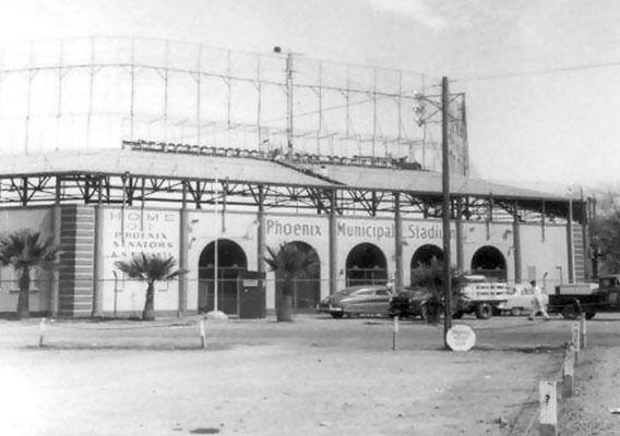 Phoenix Municipal Stadium was the Spring Training home of the 1951 New York Yankees.