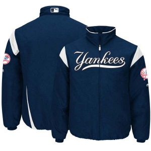 New York Yankees Majestic On-Field Therma Base Thermal Full-Zip Jacket