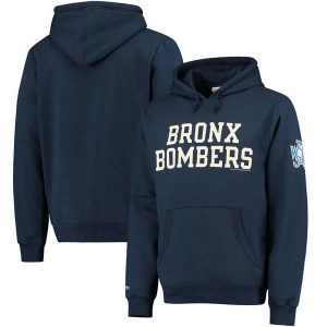 New York Yankees Mitchell & Ness Extra Out Pullover Hoodie