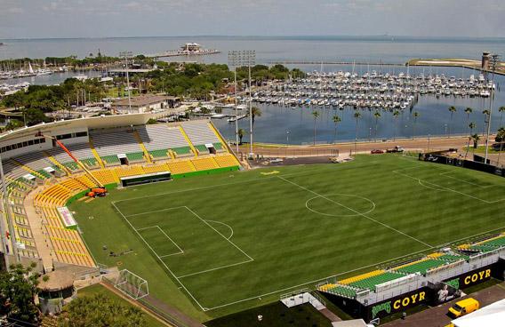 Al Lang Stadium St. Petersburg, Florida