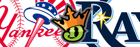 New York Yankees versus Tampa Rays on the road
