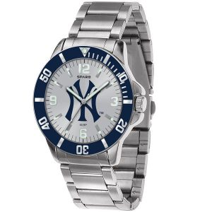 New York Yankees Men's Silver Watch