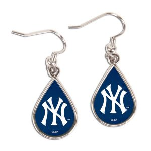 New York Yankees Tear Drop Earrings