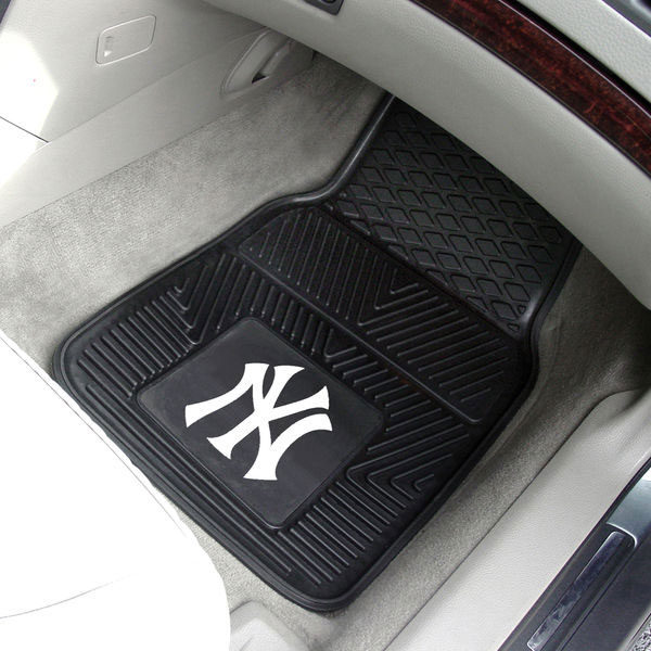 New York Yankees 2-Pack Vinyl Car Mat Set