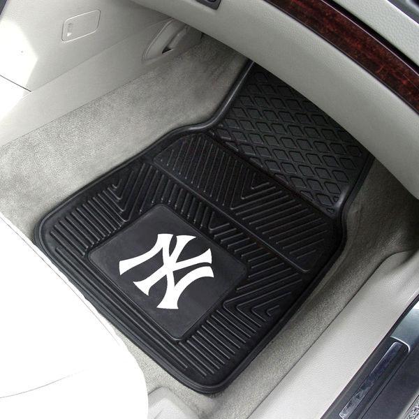 New York Yankees 2-Pack Vinyl Car Mat Set