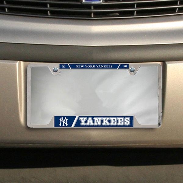 New York Yankees WinCraft Metal License Plate Frame