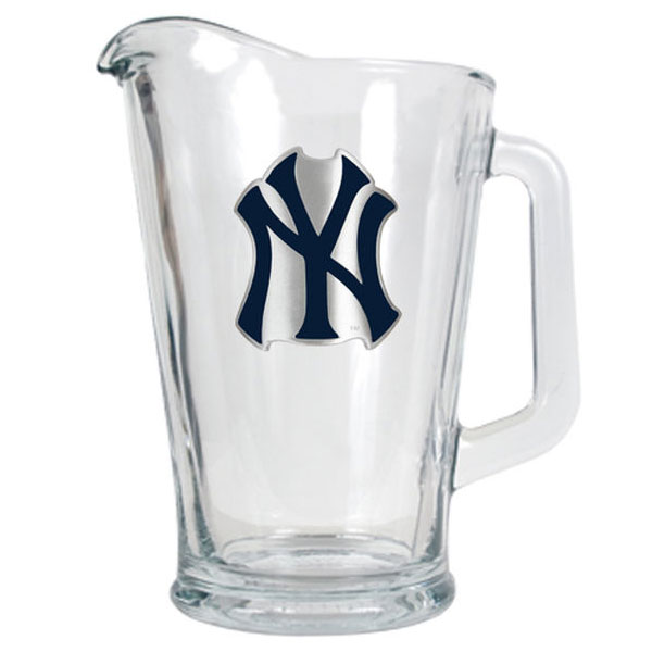New York Yankees 60 ounce glass pitcher