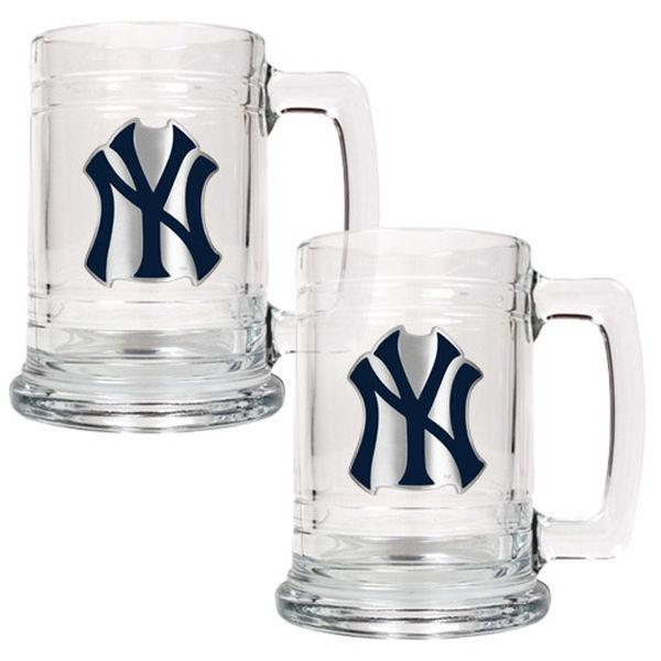 New York Yankees 15oz Beer Mugs