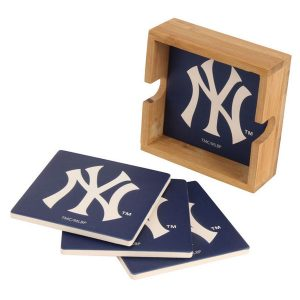 New York Yankees Branded Drink Coasters