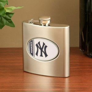 New York Yankees Steel Flask