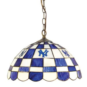 New York Yankees Glass Pub Light