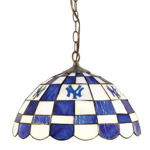 New York Yankees Glass Pub Light