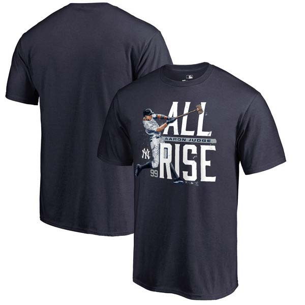 separation shoes ab1f4 d09d6 Aaron Judge New York Yankees 'All Rise' T-Shirt