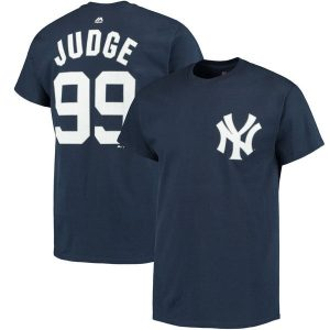 Aaron Judge Name & Number T-Shirt