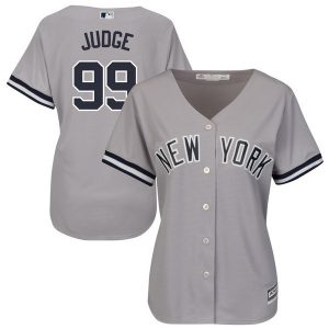 Aaron Judge Ladies Road Gray Jersey