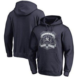 New York Yankees Police Badge Pullover Hoodie