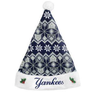 New York Yankees Knit Santa Hat