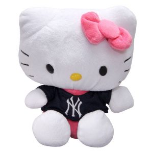New York Yankees Hello Kitty Plush Toy