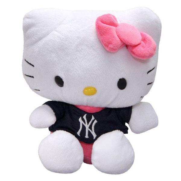 New York Yankees Hello Kitty Plush Toy