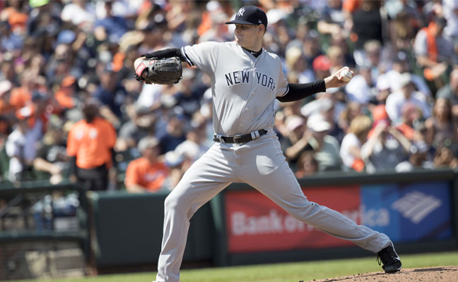 Jordon Montgomery New York Yankees