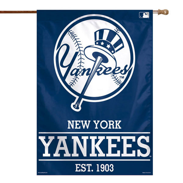 "New York Yankees 28"" x 40"" Established 1903 Single-Sided Vertical Banner"