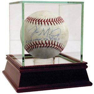 Yankees Memorabilia Jordan Montgomery signed baseball from first career win
