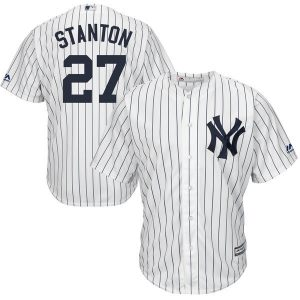 Giancarlo Stanton Official Home Jersey : 2018 Yankees Gear