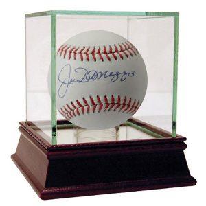Joe DiMaggio Autographed Baseball Yankee Collectibles