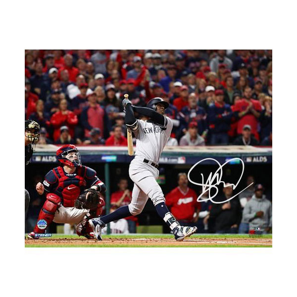 Didi Gregorius 2017 ALDS Game 5 Home Run Signed 8x10 Photo
