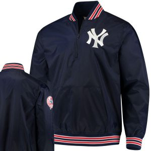 Yankees Quarter-Zip Pullover Jacket at Moiderer's Row